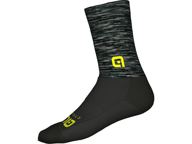 Alé Cycling Merino Logo Socks grey-black